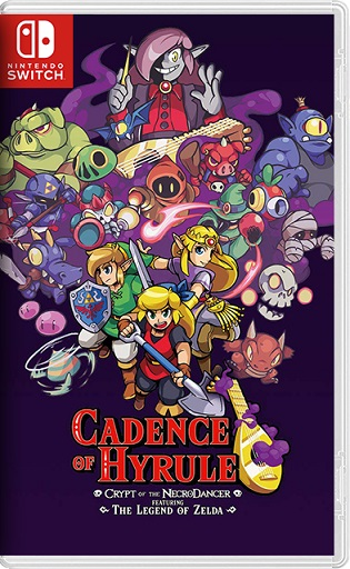 Cadence of Hyrule Crypt of the NecroDancer featuring The Legend of Zelda Switch NSP XCI