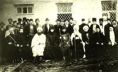 Карабахская комиссия по перемирию, 1918 год.