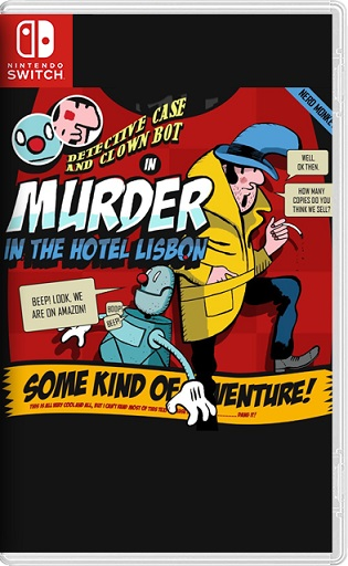 Detective Case and Clown Bot in: Murder in The Hotel Lisbon Switch NSP XCI