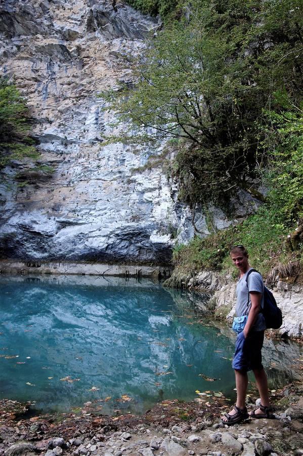 Озеро Рица и окрестности