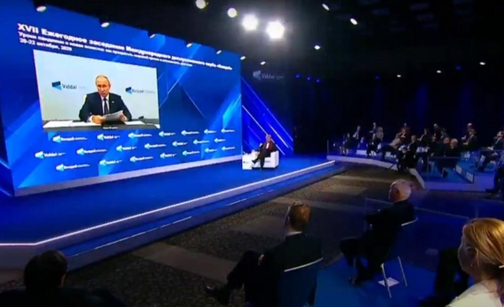 Краткий пересказ 40-минутного выступления Путина на Валдайском форуме по видеосвязи