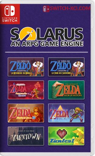Solarus Engine + 10 Games Switch NSP