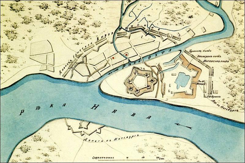 карта Петербурга