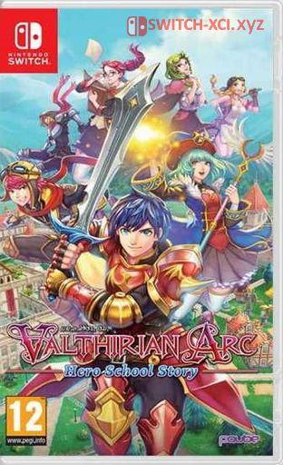 Valthirian Arc: Hero School Story Switch NSP XCI