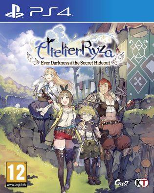Atelier Ryza: Ever Darkness & the Secret Hideout PS4 PKG