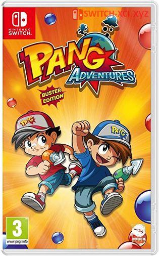 Pang Adventures Switch NSP XCI