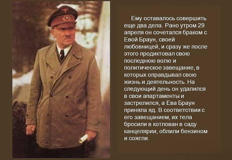 Завещание Гитлера