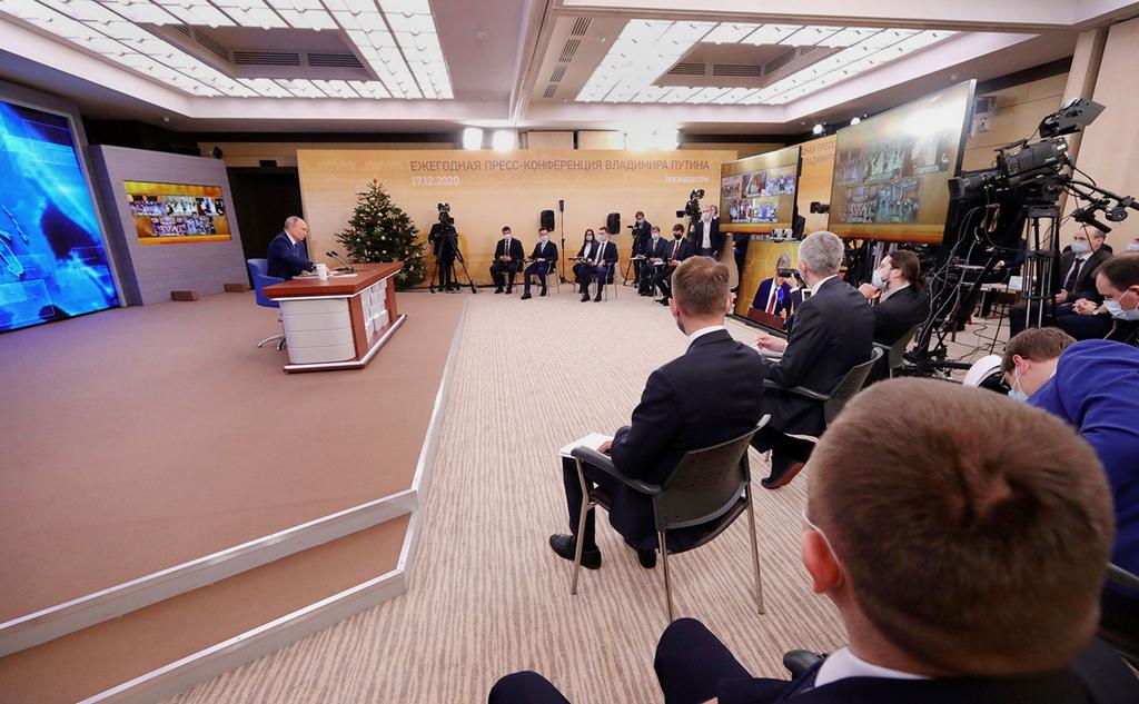 Журналисты рассказали, как их готовили к пресс-конференции Путина