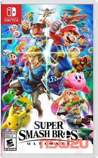 Super Smash Bros. Ultimate + Update 13.0.0 + 99 DLC Switch XCI NSP NSZ