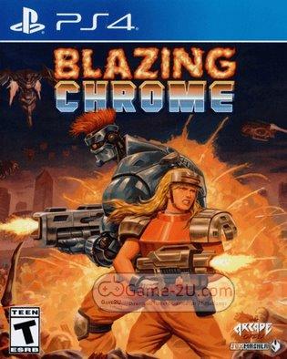 Blazing Chrome PS4 PKG
