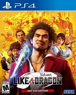 Yakuza 7: Like a Dragon PS4 PKG