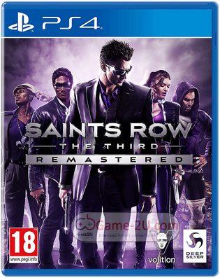 Saints Row: The Third Remastered PS4 PKG