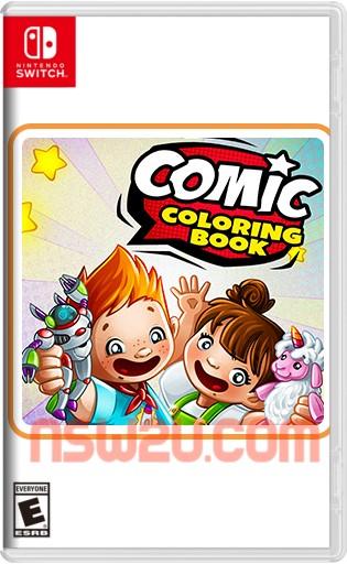 Comic Coloring Book Switch NSP XCI
