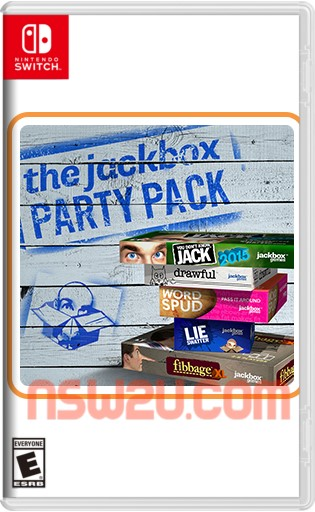 The Jackbox Party Pack vol. 1-5 Switch NSP