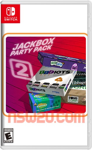 The Jackbox Party Pack 2 Switch NSP NSZ
