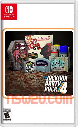 The Jackbox Party Pack 4 Switch NSP XCI NSZ