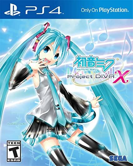 Hatsune Miku: Project DIVA X PS4 PKG