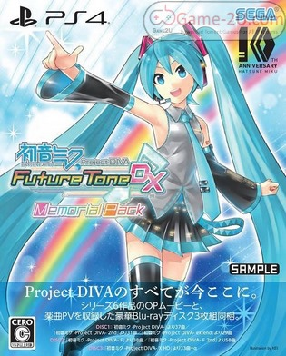 Hatsune Miku: Project DIVA Future Tone DX PS4 PKG