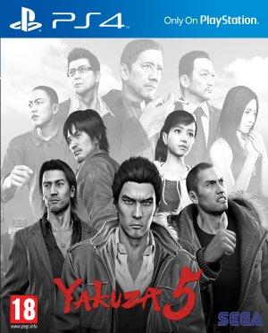 Yakuza 5 Remastered PS4 PKG