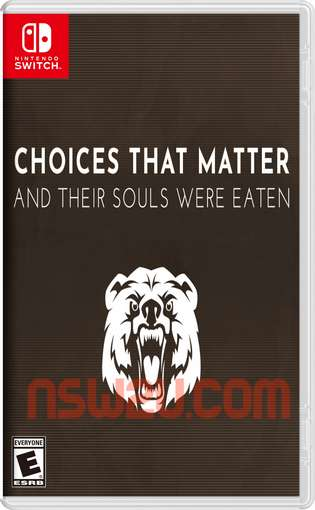 Choices That Matter: And Their Souls Were Eaten Switch NSP XCI NSZ