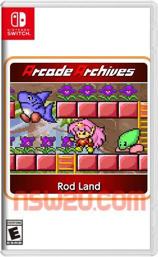 Arcade Archives Rod Land Switch NSP XCI