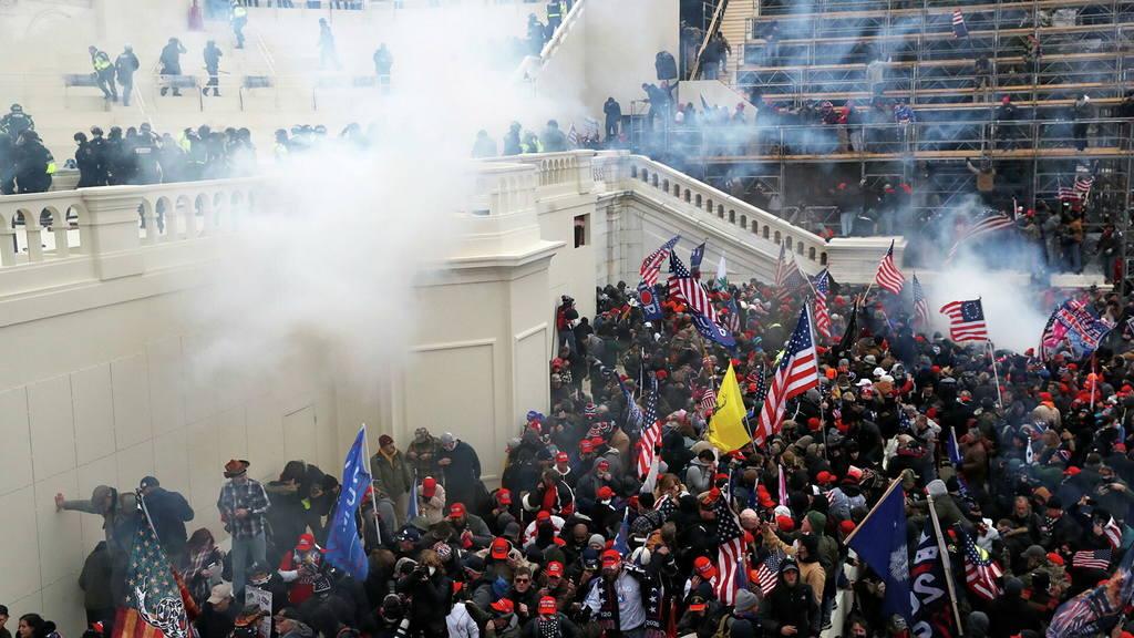 5 января 2021 года. Вашингтон. Фото из Интернета