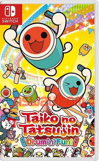 Taiko no Tatsujin: Drum'n'Fun! Switch NSP XCI NSZ