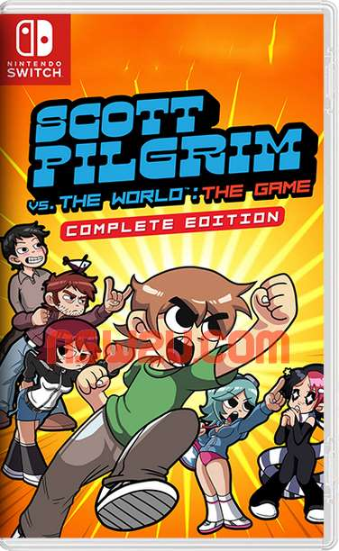 Scott Pilgrim vs. The World: The Game – Complete Edition Switch NSP XCI NSZ