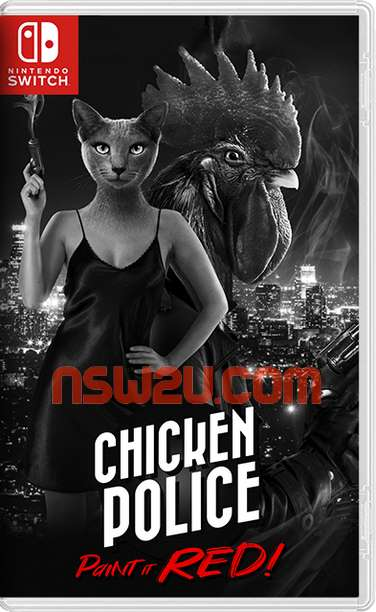 Chicken Police – Paint it RED! Switch NSP XCI NSZ