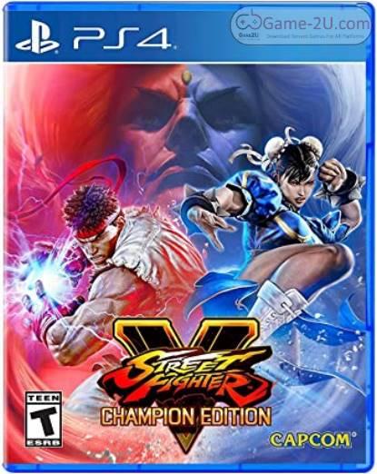 Street Fighter V: Champion Edition PS4 PKG