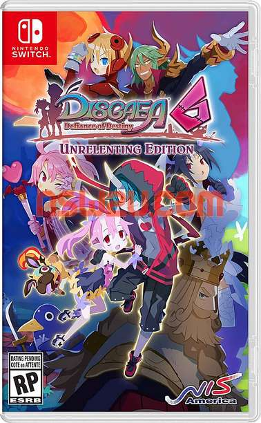 Disgaea 6: Defiance of Destiny Switch NSP XCI