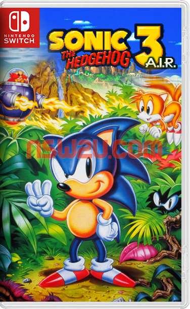 Sonic the Hedgehog 3 (A.I.R.) Switch NSP
