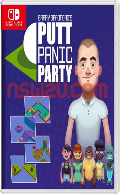 Barry Bradford's Putt Panic Party Switch NSP XCI