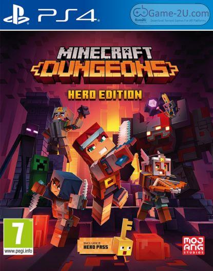 Minecraft Dungeons PS4 PKG