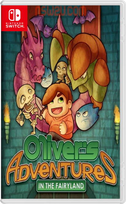 Oliver's Adventures in the Fairyland Switch NSP XCI