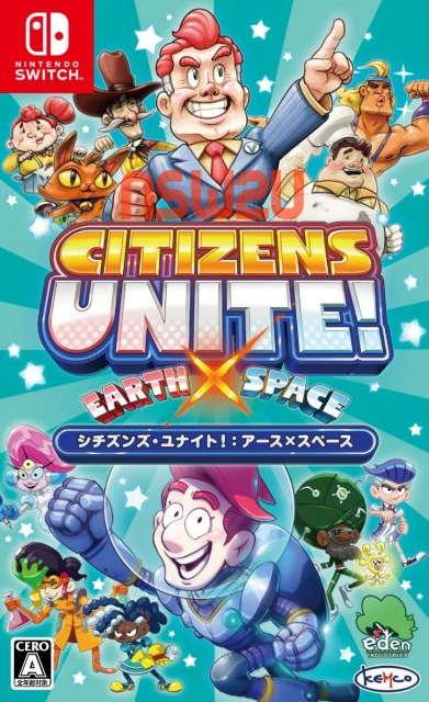 Citizens Unite!: Earth x Space Switch NSP XCI