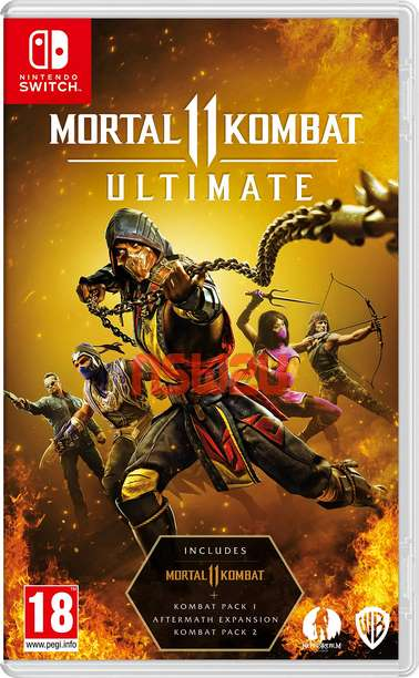 Mortal Kombat 11 Ultimate + Update 1.0.26 + 31 DLC Switch NSP XCI NSZ