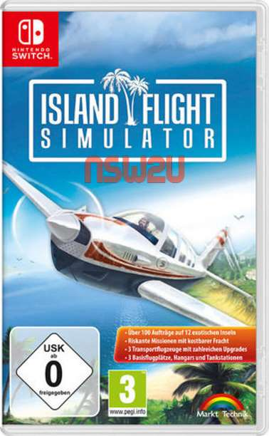 Island Flight Simulator Switch NSP XCI