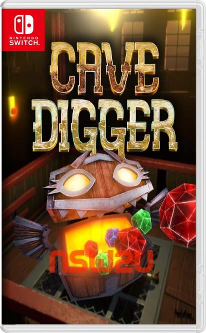 Cave Digger Switch NSP XCI
