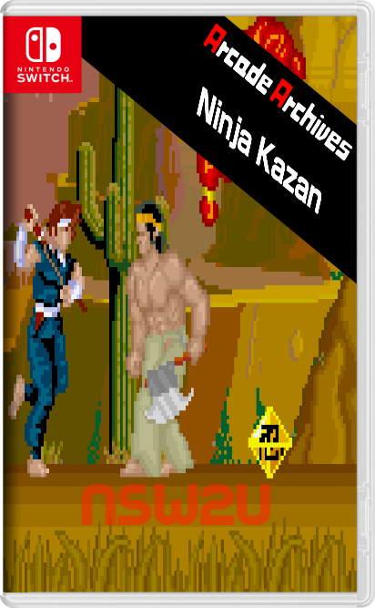 Arcade Archives Ninja Kazan Switch NSP XCI NSZ