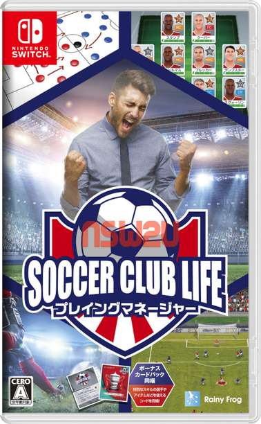 Soccer Club Life: Playing Manager Switch NSP XCI