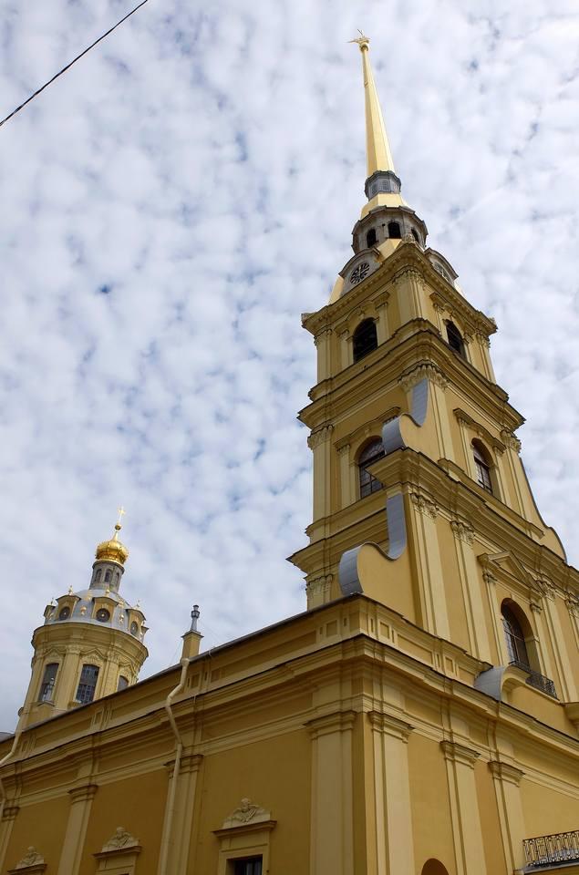 Петропавловский  собор Санкт-Петербурга
