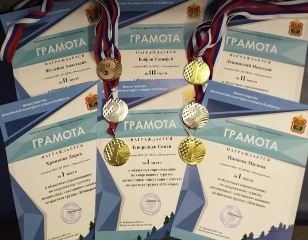 Областные соревнования по спортивному туризму на лыжных дистанциях (на базе Локомотив)