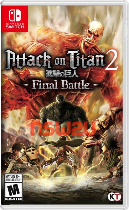 Attack on Titan 2 Final Battle Switch NSP XCI NSZ