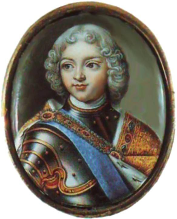 Петр II в детстве