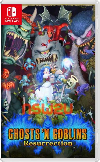 Ghosts 'n Goblins Resurrection Switch NSP XCI