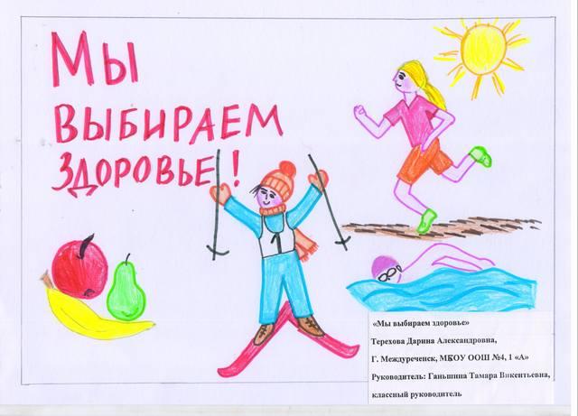 Итоги муниципального этапа областной акции « Календарь здоровья!»