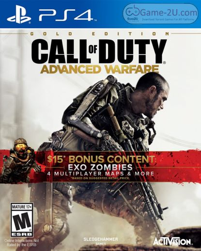 Call of Duty: Advanced Warfare Gold Edition PS4 PKG
