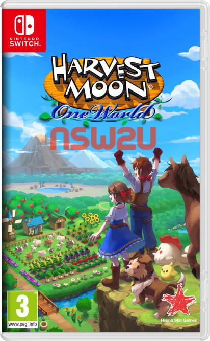 Harvest Moon: One World Switch NSP XCI