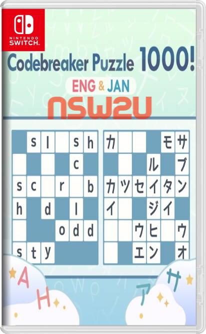 Codebreaker Puzzle 1000! ENG & JAN Switch NSP XCI
